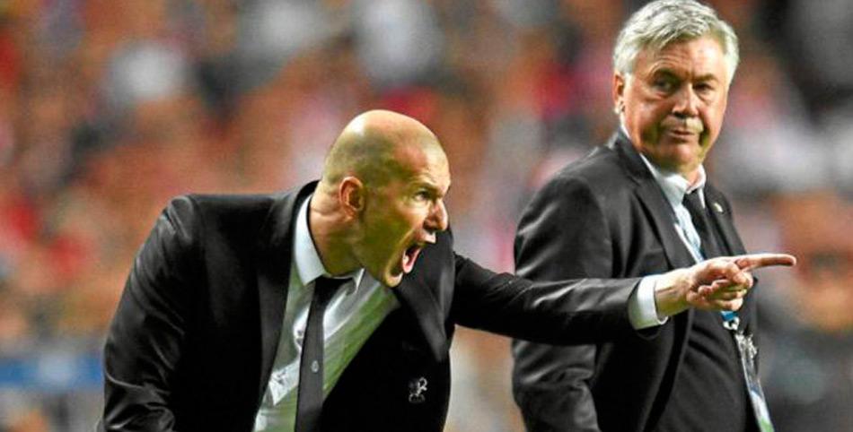 Carlo ancelotti habla sobre zinedine zidane antes del for Proximo partido del real madrid
